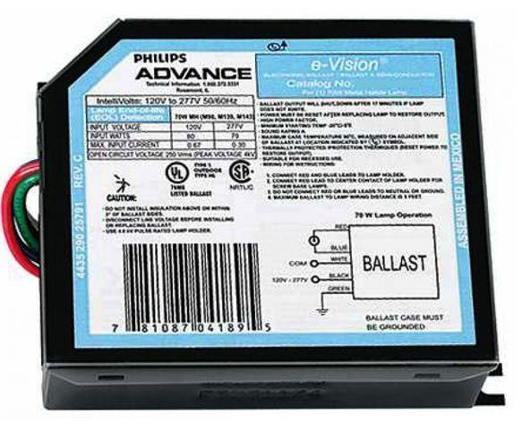 Advance IMH70ELF Metal Halide Ballast