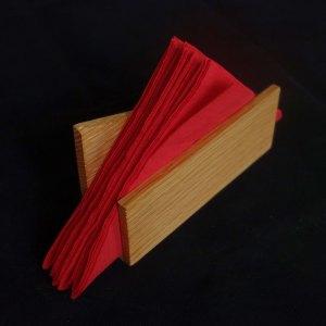 ξύλινη χαρτοπετσετοθήκη
