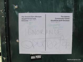 Tolerance at Ground Zero