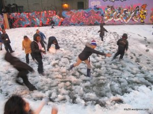 Snowball Fight!!