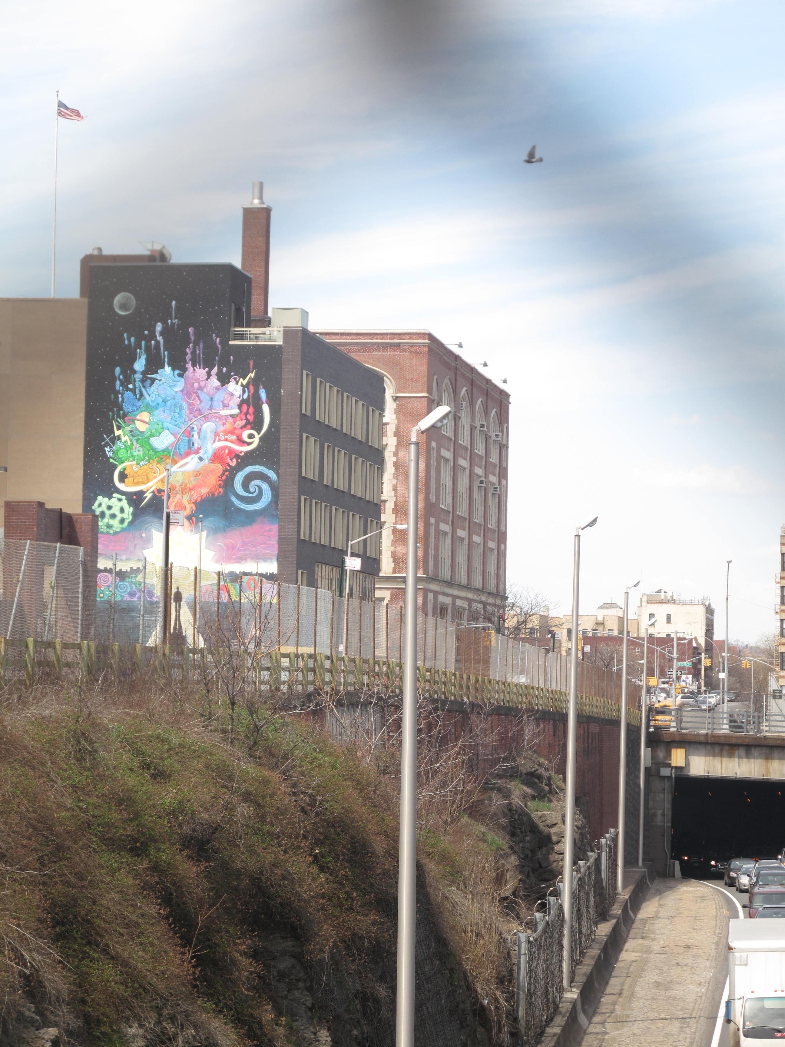 Cross Bronx Expressway Wall Mural | Lystria Hurley Blog