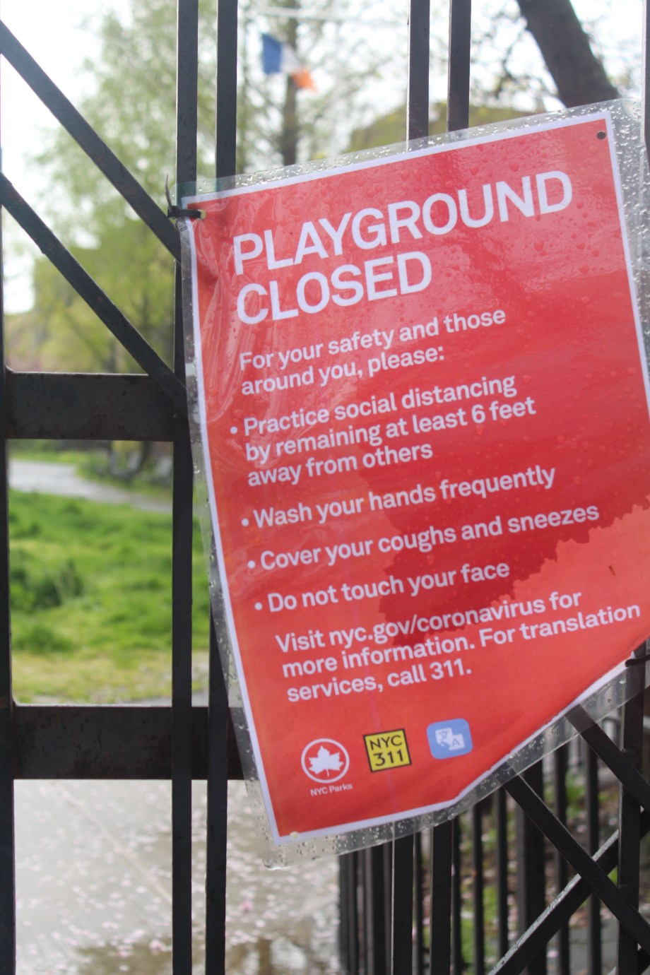 PlaygoundClosed