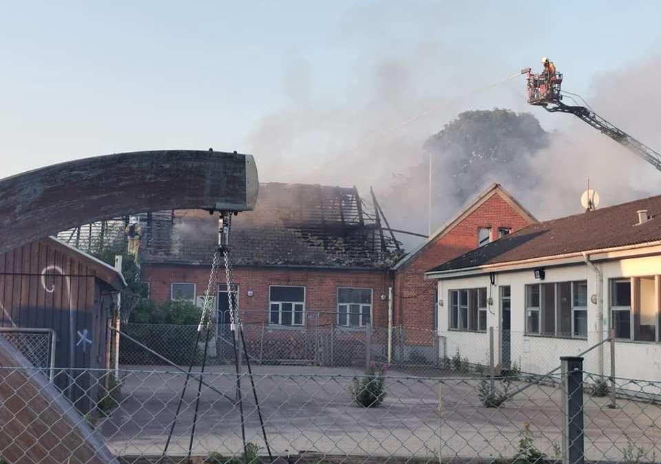 Brand i spejderhuset – igen