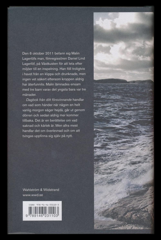 Dagbok från ditt försvinnande av Malin Lagerlöf