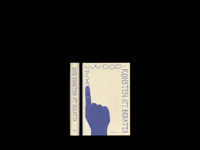 James Wood Konsten att berätta, illustration och omslag av Lukas Möllersten (Lyth & Co)