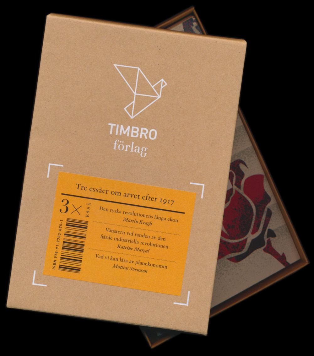 Tre essäer om arvet efter 1917 från Timbro förlag