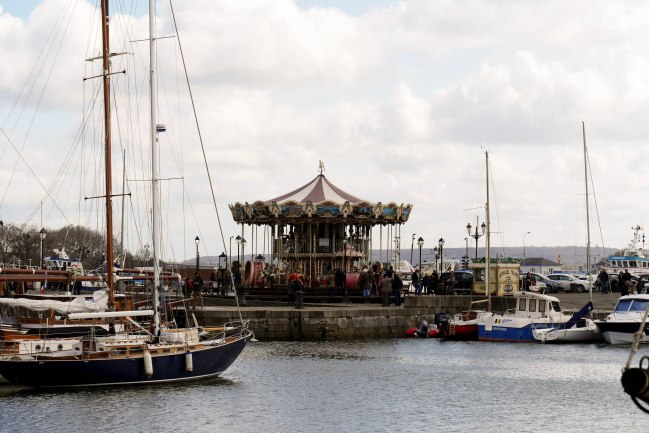 Carrousel by the port