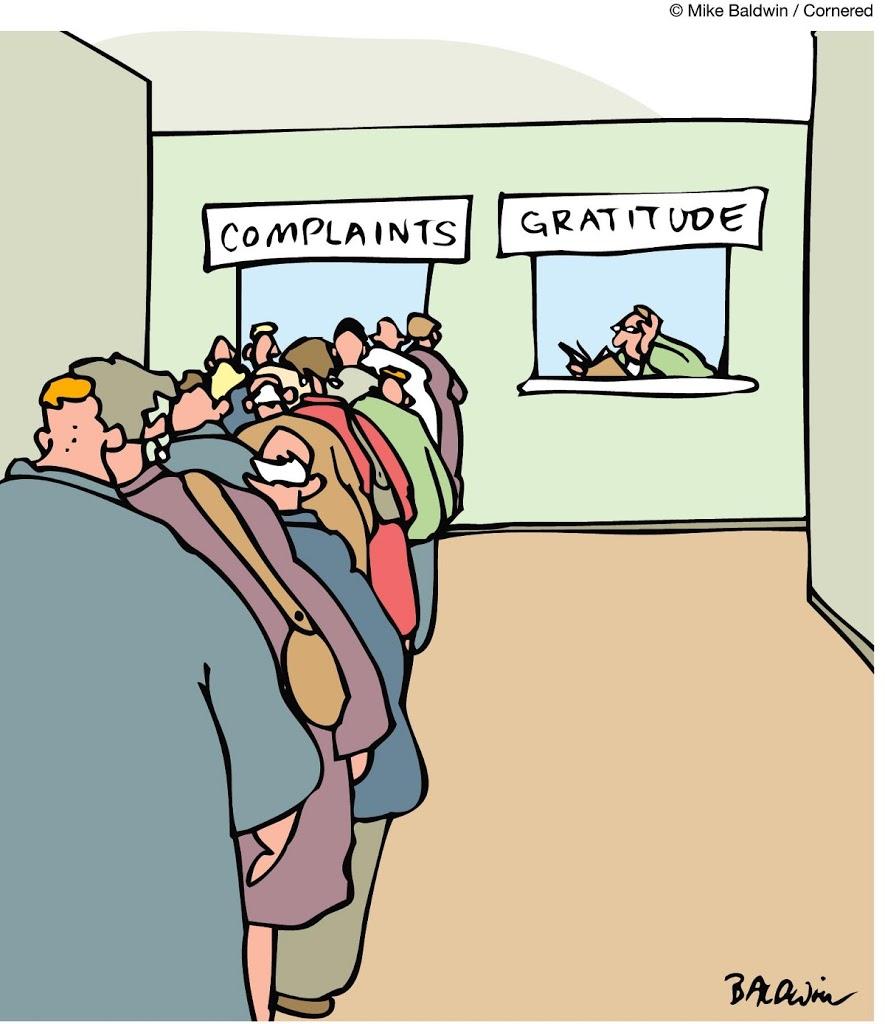 The Minefield: Beware of Complainitis