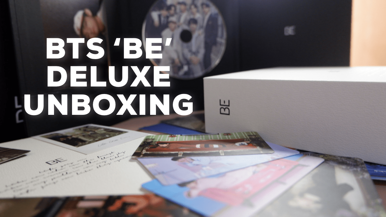 [VLOG] My First Unboxing: BTS 'BE' Deluxe Album