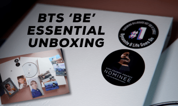 [VLOG] BTS 'BE' Essential Edition Unboxing