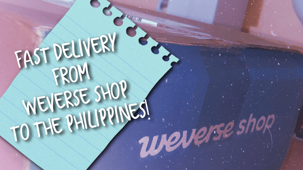 [VLOG] Fast Delivery from WEVERSE Shop to the Philippines | Tutorial & Experience
