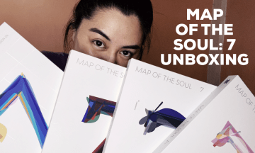 [VLOG] Map of the Soul: 7 Album Unboxing