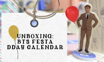 BASTA UNBOXING ITO! | Unboxing BTS (방탄소년단) FESTA DDay Calendar