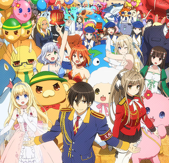 Anime Bad Girl Wallpaper Amagi Brilliant Park Review Getting Up Early