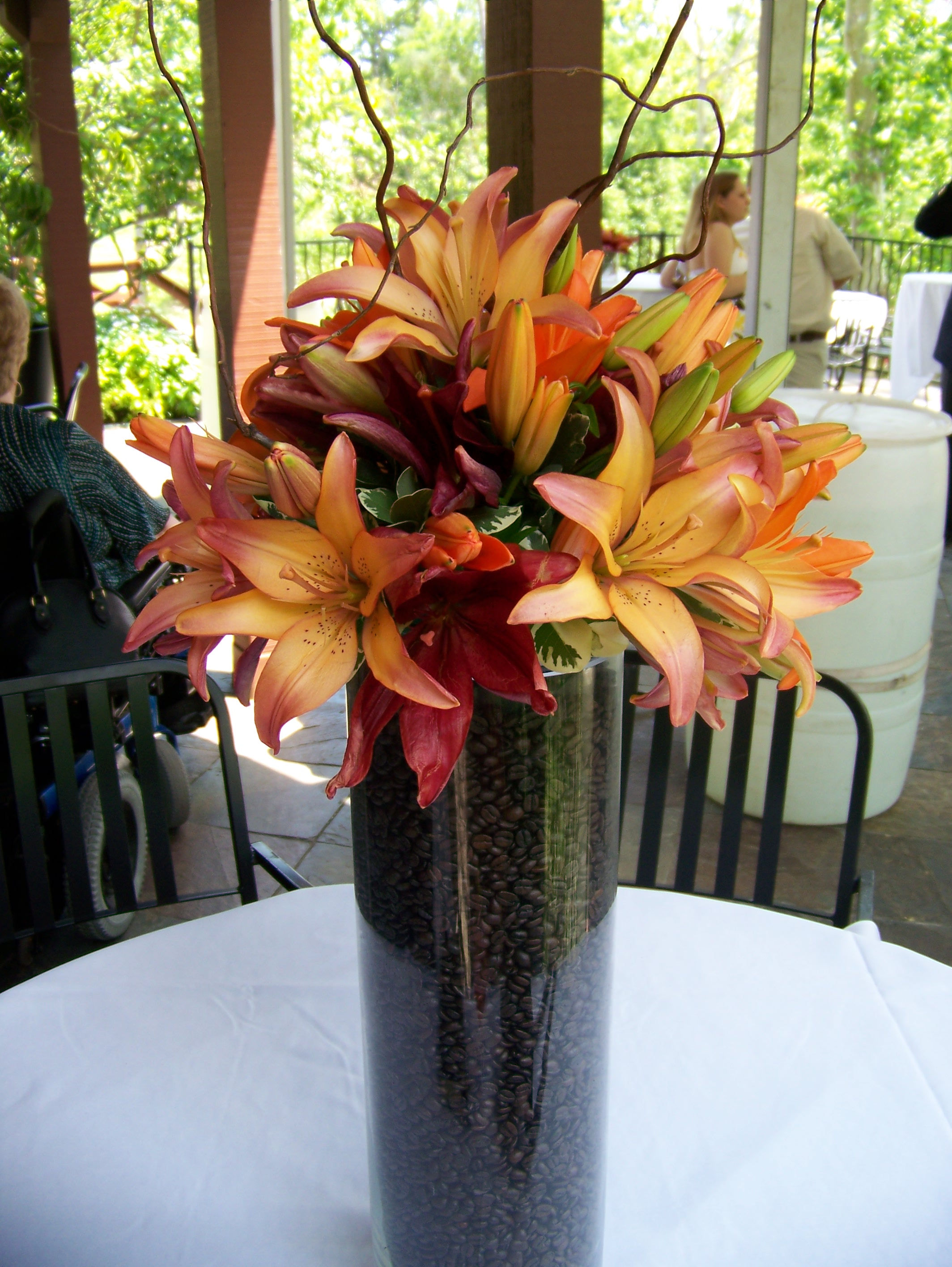 What do you do with that large glass vase  LZ Florals Blog
