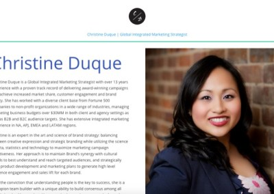 Christine Duque