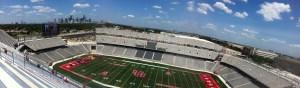 "New Houston Cougars Football Stadium, August 24, 2014 (Attribution: ""TDECU Stadium, empty interior"" by Brian Reading - Own work. Licensed under Creative Commons Attribution-Share Alike 4.0 via Wikimedia Commons - http://commons.wikimedia.org/wiki/File:TDECU_Stadium,_empty_interior.jpg#mediaviewer/File:TDECU_Stadium,_empty_interior.jpg)"