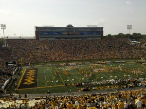 The scene before Mizzou's opening game of the season against Southeast Missouri State.