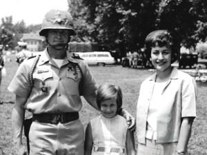 Hal and Julie Moore at Fort Benning