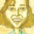 Brigitte Hackenberg gezeichnet von Berno Hellmann