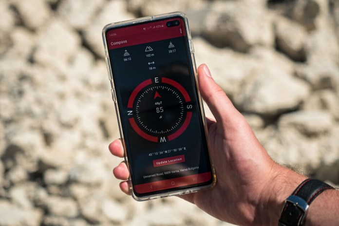 How To Use Your Phone As A Compass The Best Android Compass App Phonearena