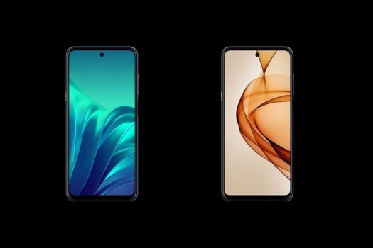 TCL 20L (left), 20L+ (right) - All of TCL's affordable upcoming smartphones are now like an open book