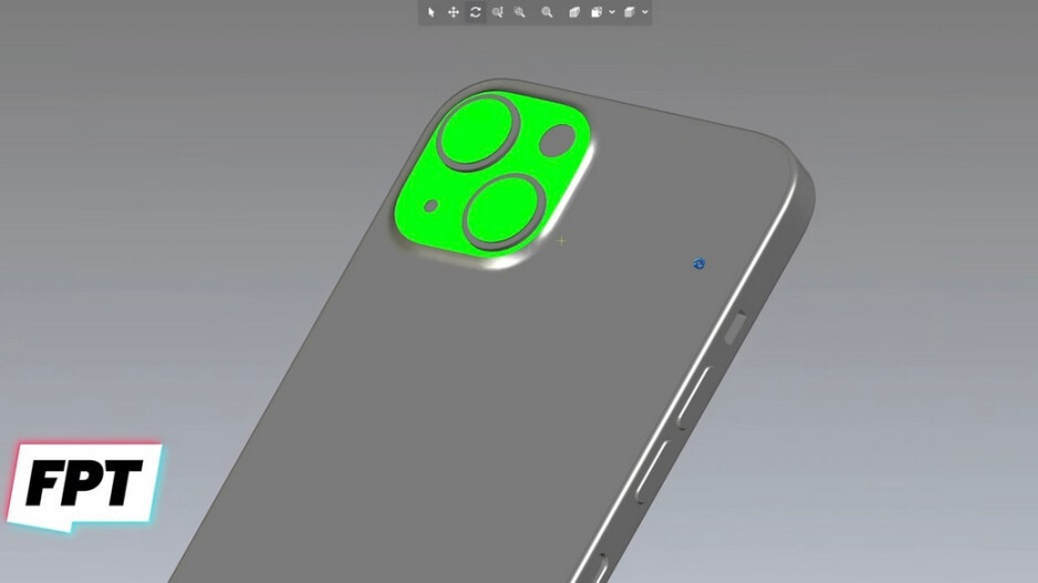 CAD file shows off new rear camera design for iPhone 13 and iPhone 13 mini - Tipster shares 5G iPhone 13, iPhone 13 Pro CAD files which corroborate earlier leaks