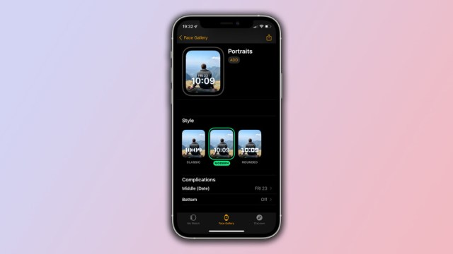 The Portraits Watch Face is available for the Apple Watch is watchOS beta 2 - The new Portraits Watch Face for Apple Watch is available now with the release of watchOS 8 beta 2