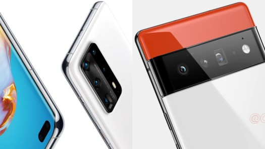 The Huawei P40 Pro+ was the first phone with a 10x optical zoom camera, before Samsung brought it to the Galaxy S21 Ultra. - Google Pixel 6 Pro and its 122MP camera system: The 4-year wait for 4 new cameras