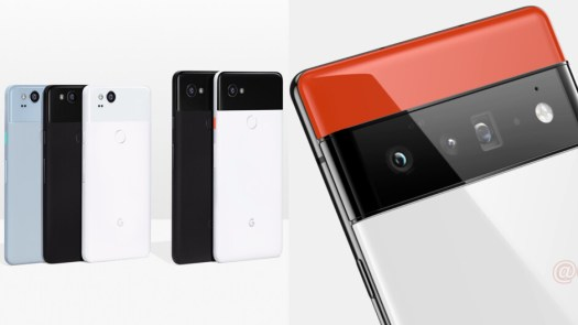 Google hasn't upgraded the main camera sensor on its flagship Pixel phone for 3-4 years in a row. - Google Pixel 6 Pro and its 122MP camera system: The 4-year wait for 4 new cameras