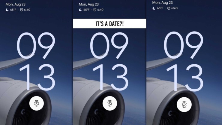 """This is a screenshot shared by Hiroshi Lockheimer - Google SVP. It reveals a Pixel device with an in-screen fingerprint reader, likely the Pixel 6. However - could the """"time"""" on the screenshot actually be a date?! Is Google Pixel 6 coming out September 13 - a day before the iPhone 13?! That's a stretch, but stretching is good for you. - Pixel 6: Google and Samsung's overdue flagship takes on iPhone 13, after failing to launch in 2020"""