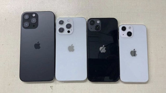 iPhone 13 dummy units, grain of salt not supplied - Periscope zoom iPhones won't be able to escape Samsung's shadow