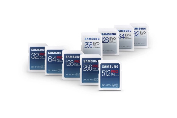 Samsung unveils new micro SD cards (and your Galaxy flagship can't even use them)