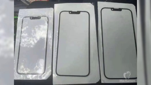 This is how the iPhone 13's display and notch will look like, according to the above-mentioned leak from March