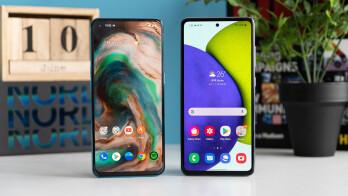 OnePlus Nord CE 5G vs Samsung Galaxy A52 2