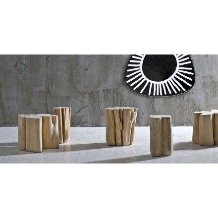 table rondin naturel taille s m ou l gervasoni
