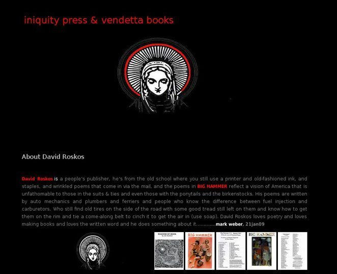 Iniquity Press & Vendetta Books