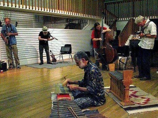 ENVISION ENSEMBLE  w/ Henry Kuntz, Dan Plonsey, Brian Godchaux, John Kuntz, Esten Lindgren at Berkeley Arts Festival  August 27, 2014