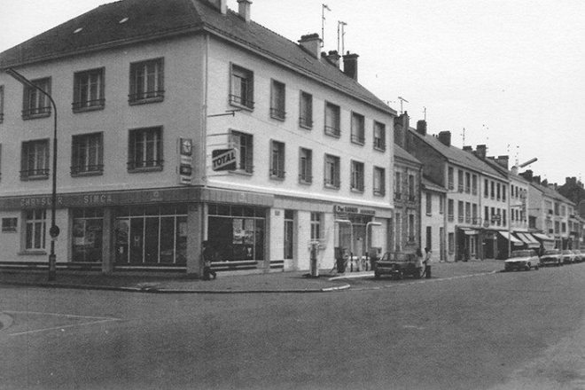 Garage Pineau - Saint-Nazaire (années 1960)
