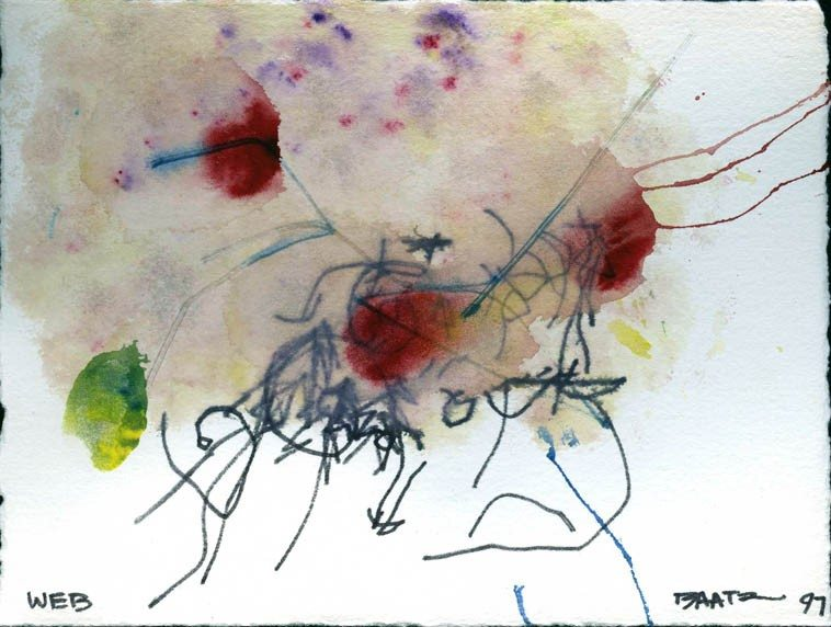 Watercolor by Ronald Baatz -- July 1997 -- collection of Mark Weber