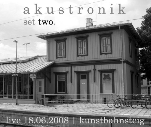 akustronik | set two ; cover