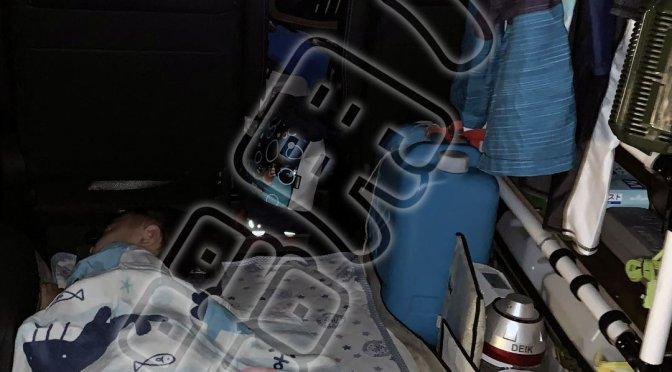 ステップワゴンで車内泊