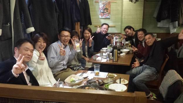 新年会もLDメンバー全員&梅田よしさんも参加!