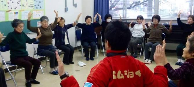 【高齢者健康作り教室へ】