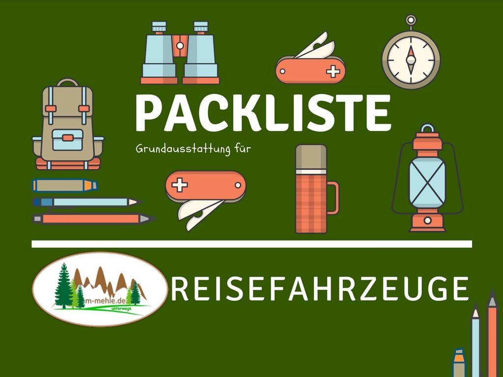 Logo Packliste Grundausrüstung