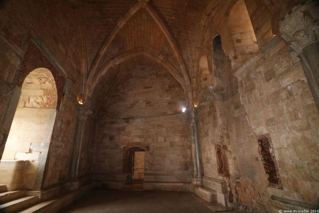 Innenansicht Castel del Monte