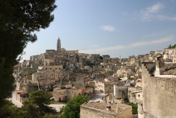 Blick auf Matera, Region Basilikata, Italien