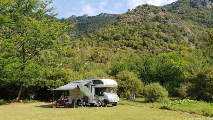 Camping, Rijeka Crnojevica, Montenegro