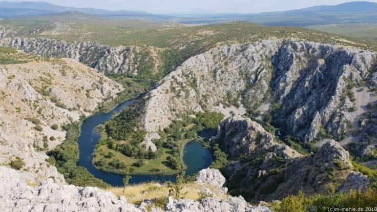 An der Zrmanja, Kroatien