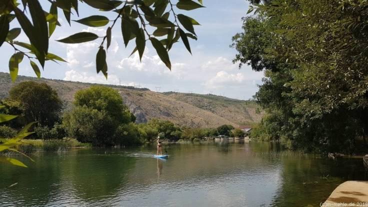 Paddeln auf der Buna, Bosnien - Herzegowina